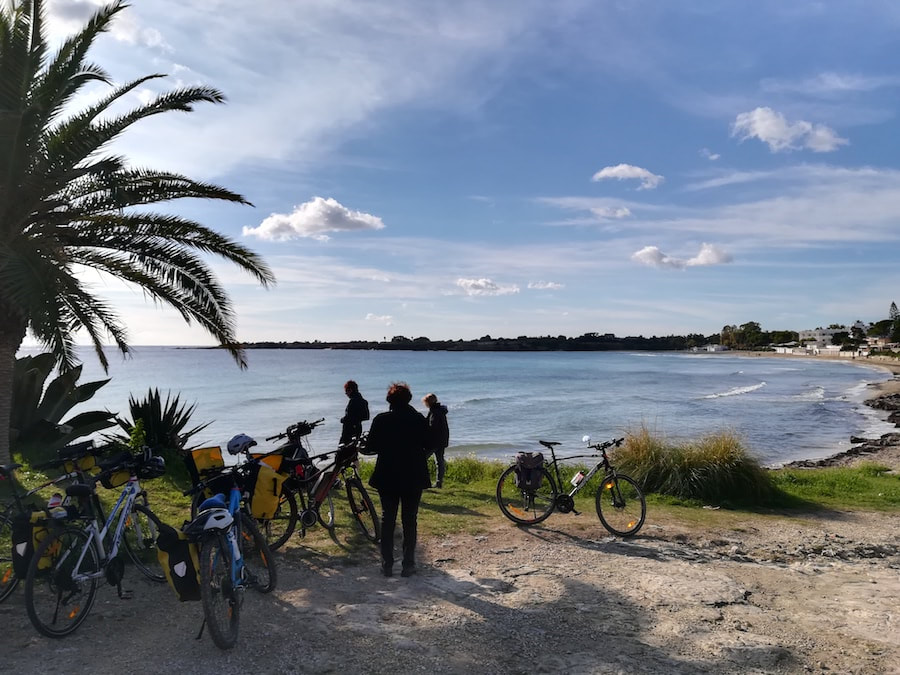 Fontane Bianche, Syracuse - Bike tours in Sicily