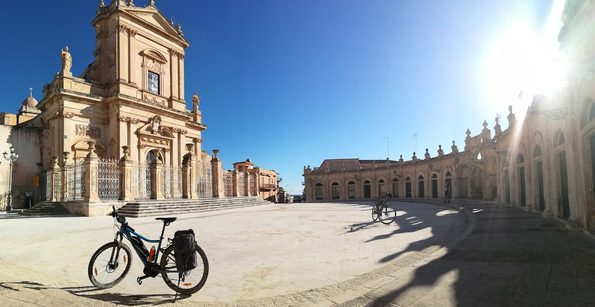 Ispica - bike tours in Sicily