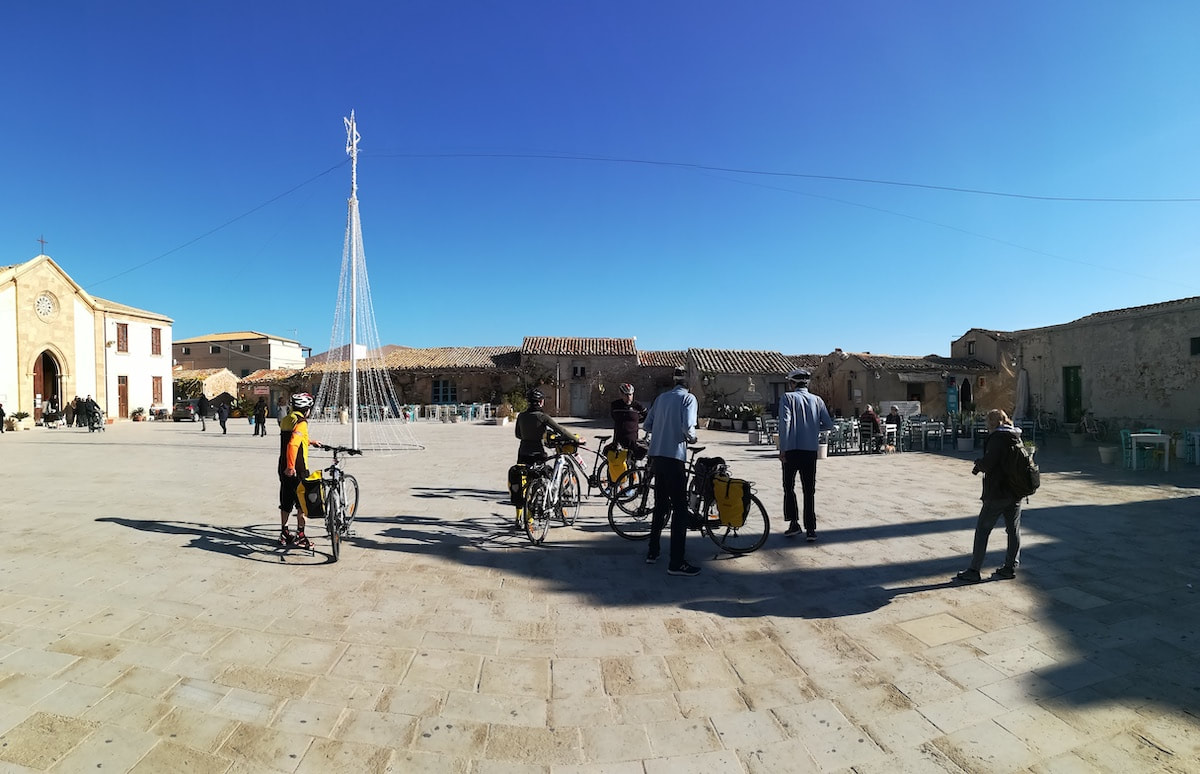 Marzamemi - bike trip in Sicily