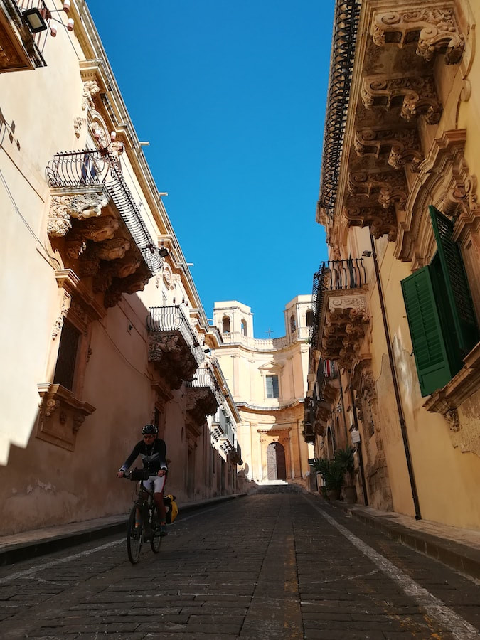 Noto - Baroque towns of Sicily by bike