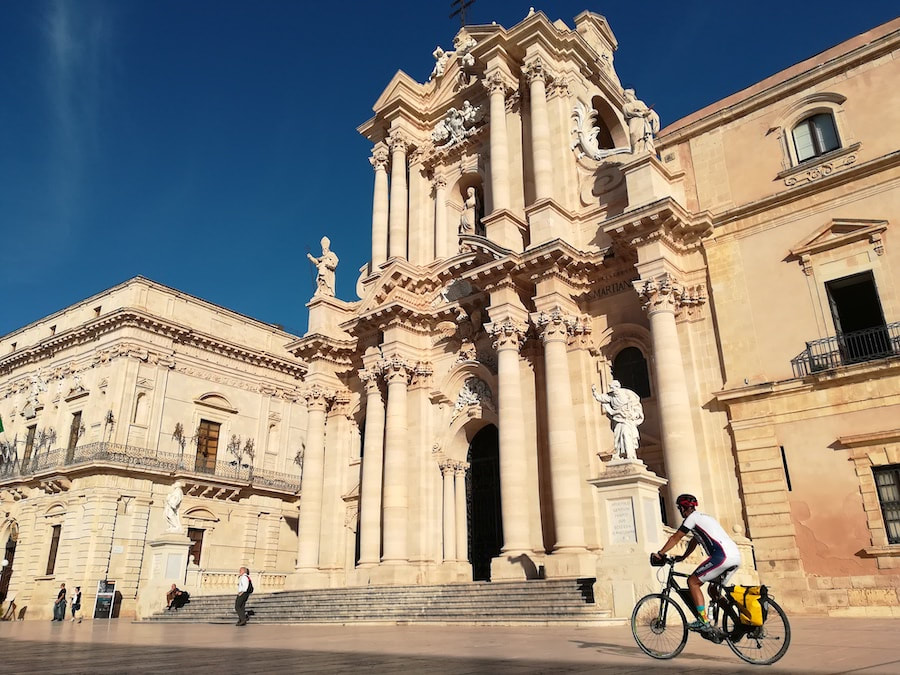 Syracuse - cycling vacations in Sicily