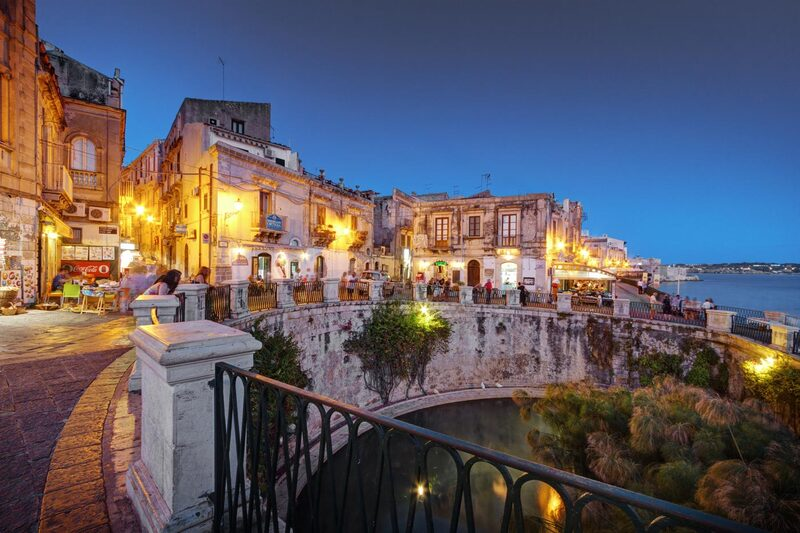 Ortigia, Syracuse - cycling holidays in Sicily