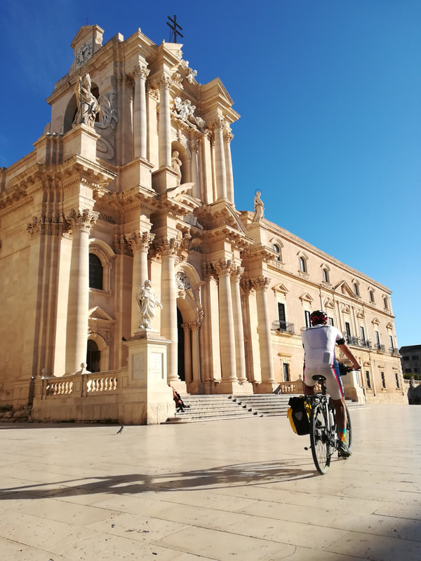 Syracuse - cycling tours in Sicily